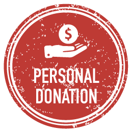 Personal Donation Badge