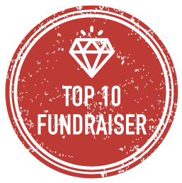Top 10 Fundraiser Badge